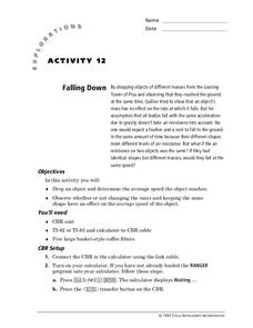 Falling Down Lesson Plan