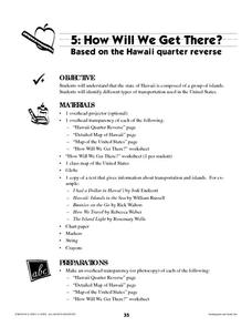 How Will We Get There? Lesson Plan