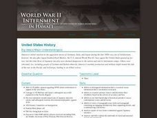 World War II: Internment in Hawaii Lesson Plan