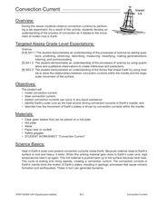 convection currents mantle lesson plans worksheets. Black Bedroom Furniture Sets. Home Design Ideas
