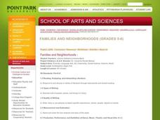 Families and neighborhoods Lesson Plan