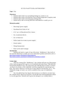 Mythbusters lesson plans worksheets reviewed by teachers so you want to be a mythbuster ibookread