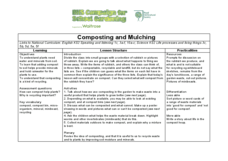 Composting and Mulching Lesson Plan