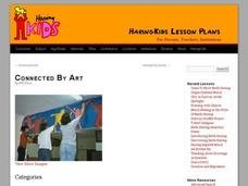 Connected by Art Lesson Plan
