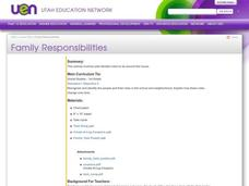 Family Responsibilities Lesson Plan