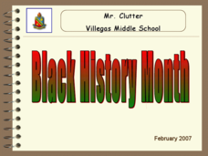 Black History Month: Key Events Presentation