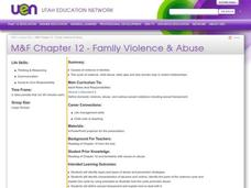 Family Violence & Abuse Lesson Plan