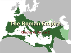 The Roman Empire Ch 6 Presentation