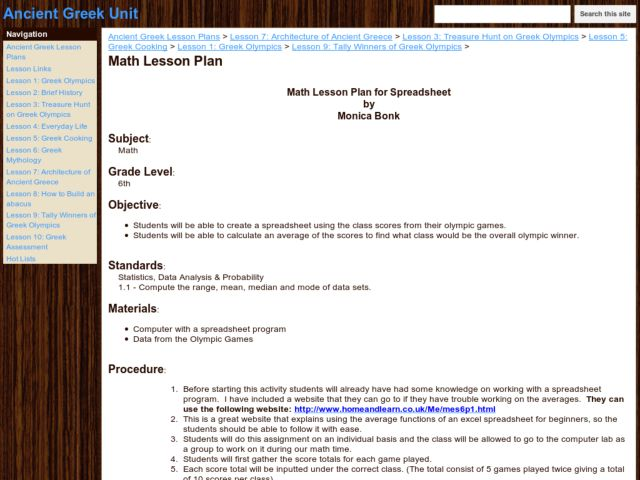 spreadsheet lesson plans worksheets lesson planet