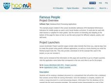 Famous People Lesson Plan