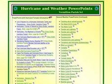 Hurricane and Weather Power Points Presentation