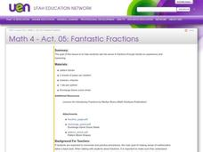 Fantastic Fractions Lesson Plan