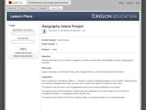 Geography Island Project Lesson Plan