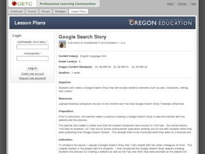 Google Search Story Lesson Plan