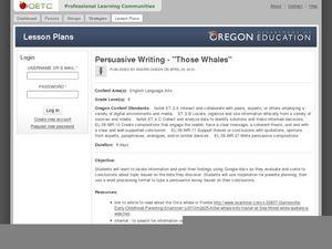 Fsa persuasive essay lesson plan