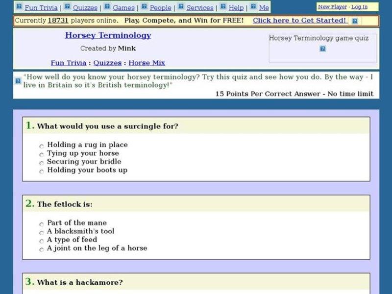 free online trivia quizzes