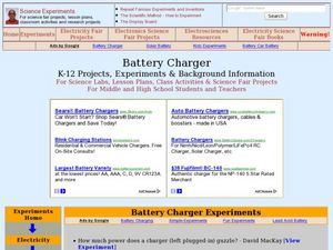 Battery Charger Lesson Plan