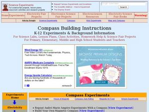 Compass Building Instructions Lesson Plan