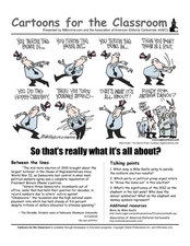 Cartoons for the Classroom: 2012 Mid-Term Elections Worksheet