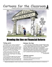 Drawing the Line on Financial Reform Worksheet