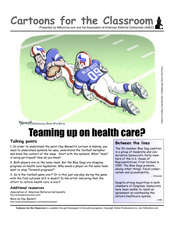 Teaming Up on Health Care Worksheet
