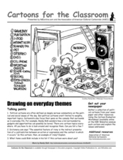Cartoons for the Classroom: Social Commentary Worksheet