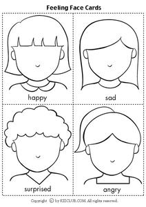 Feeling Face Cards Lesson Plan