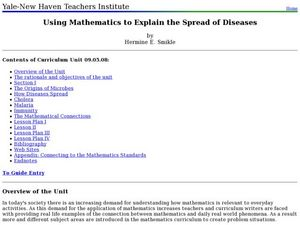 Using Mathematics to Explain the Spread of Diseases Lesson Plan