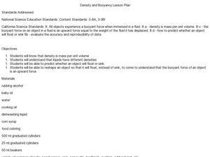 density column lab lesson plans worksheets reviewed by teachers. Black Bedroom Furniture Sets. Home Design Ideas