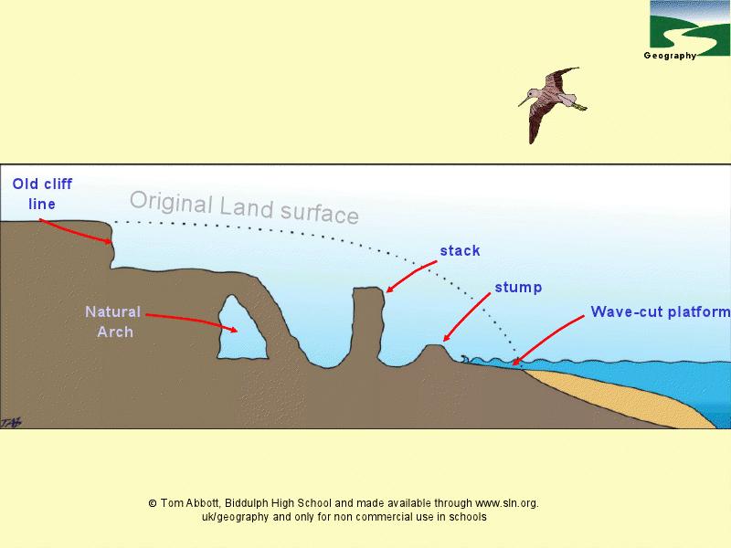 Coastal Erosion Diagrams Presentation For 7th Manual Guide
