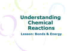 Understanding Chemical Reactions Lesson: Bonds and Energy Presentation