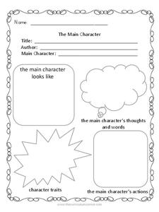Fiction Graphic Organizers Graphic Organizer