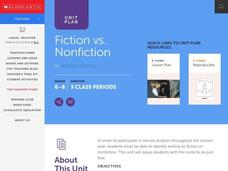 Fiction vs. Nonfiction Lesson Plan