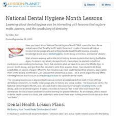 Personal Hygiene Lesson Plans & Worksheets | Lesson Planet