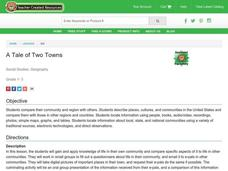 A Tale of Two Towns Lesson Plan