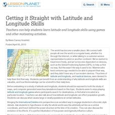 Latitude and Longitude Lesson Plans & Worksheets | Lesson Planet