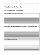 gupta empire lesson plans worksheets reviewed by teachers. Black Bedroom Furniture Sets. Home Design Ideas