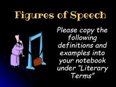 Figures of Speech Presentation
