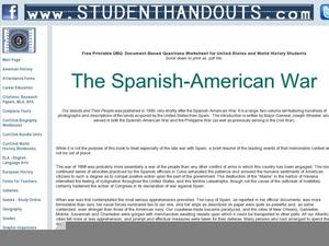 spanish american war analysis Free mexican war papers, essays, and  analysis of the mexican civil war  of the present-day american southwest first by the spanish and then by the united.