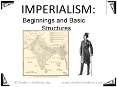 Imperialism: Beginnings and Basic Structure  Presentation