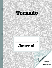 Tornado Journal Graphic Organizer