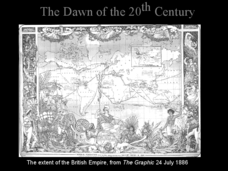 The Dawn of the 20th Century Presentation