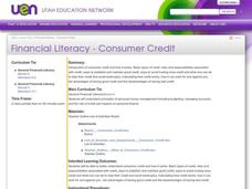 Financial Literacy - Consumer Credit Lesson Plan