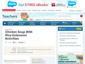 Chicken Soup with Rice Extension Activities Lesson Plan