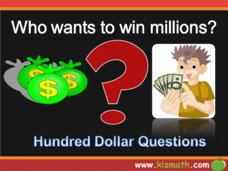 Who Wants to Win Millions-Counting by Twos and Threes Presentation