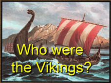 Who Were the Vikings Presentation