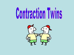 Contraction Twins Presentation