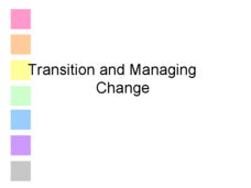 Transitions and Managing Change Presentation