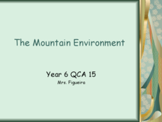 Mountain Range Project Presentation