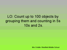Counting by Grouping Objects Presentation